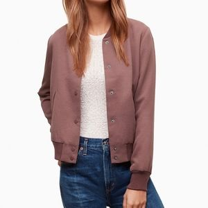 Wilfred Poussin Bomber in Truffle